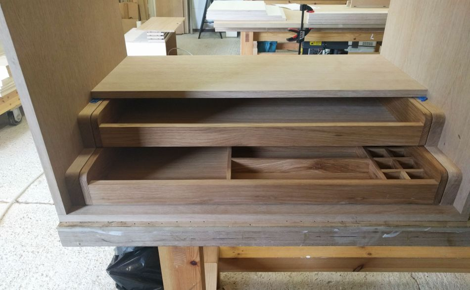 Thumbnail image for Oak Wardrobe Drawers